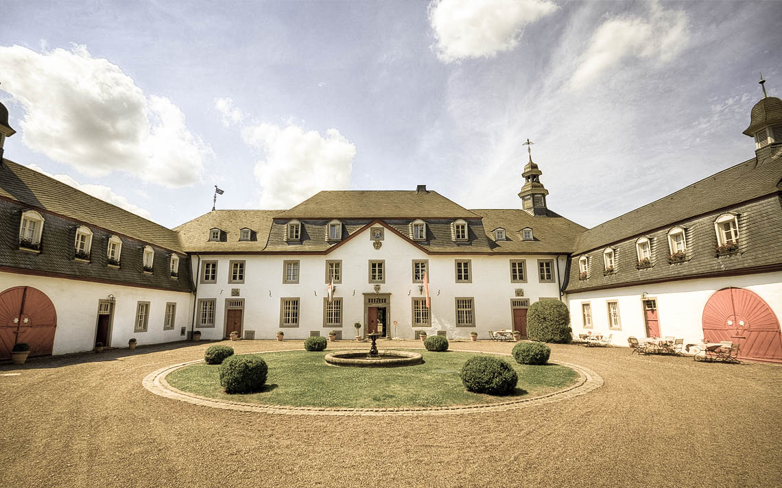 Hochzeitsfeier auf Schloss Auel